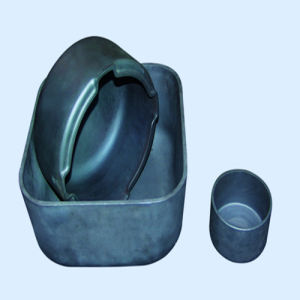 Withstand 1650 Degree High Purity Silicon Carbide Crucible for Sintering