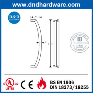 Decorative SS304 Tubular Pull Handle for Public Door (DDPH013) pictures & photos