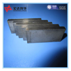 Cemented Carbide Flat Strips for Wood Cutting Bits pictures & photos
