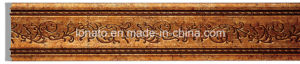 Wholesale Wood Color PS Skirting Floor Moulding Panel pictures & photos