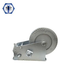 2000lbs Hand Winch Zinc Plated Manufacture