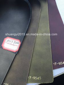 New Design PU Synthetic Leather for Shoes, Bags (AT17) pictures & photos