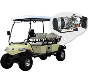Hunting Golf Cart/Buggy with Hybrid (DEL2042D2Z, 4+2seat) pictures & photos
