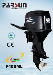 40HP 4-Stroke Boat Engine/ Remote Control / Electric Start / Short Shaft / Electric Tilt pictures & photos