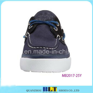 Men Business Canvas Upper Boat Shoes pictures & photos