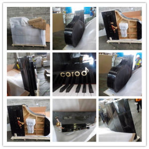 88keys 1860mm Height Black Grand Piano pictures & photos