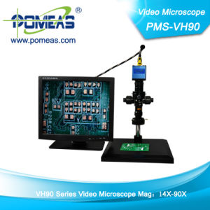 Optics Microscope with Zoom Lens (PMS-VA90)