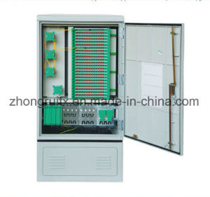 Outdoor Telecommunication Fiber Optic Splice Cabinet