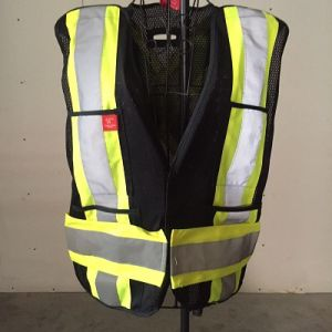 Reflective Safety Vest, Made of Polyester Mesh Fabric pictures & photos