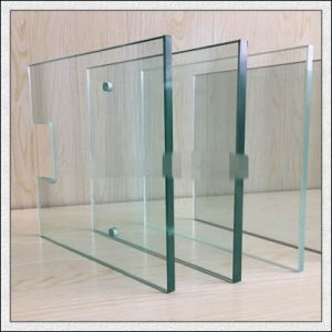 Toughened Glass with Polished Edges/Holes/Silk-Screen Printing pictures & photos