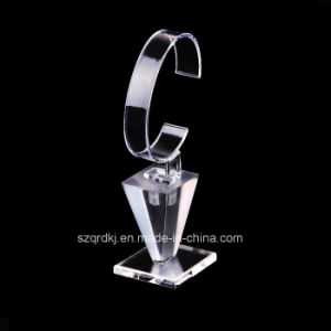 Plastic Acrylic Display Holder OEM for Watch Jewelry Cosmetic (QRD-033)