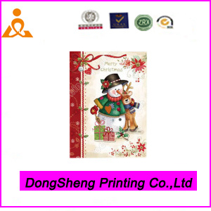 Wholesale Paper Greeting Card Christmas Made in China