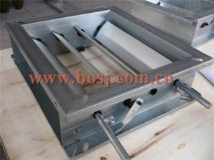 Air Conditioning Electric Air Louver Damper with Actuator for Duct From China HVAC Roll Forming Machine Equipment Supplier Vietnam pictures & photos