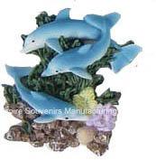 Dolphins Polyresin Fridge Magnet for Souvenir (PMG065) pictures & photos