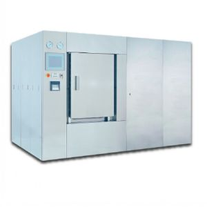 Water Shower Steam Sterilizer Autoclave for Pharmaceuticals IV Bags, Glass Bottle, Plastic Bottle pictures & photos