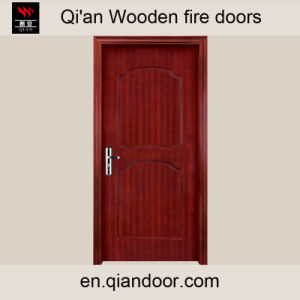 Milled Veneer Wooden Fire-Rated Door pictures & photos