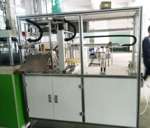 Dental Floss Hydraulic Clamping Vertical Injection Molding Machine pictures & photos