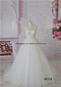 Sleeveless Sexy Lace New Modle Bridal Dress pictures & photos