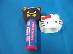 Wholesale Promotional Cute Portable Protective 3D Cartoon Animal Shape Silicone Lipstick Covers pictures & photos