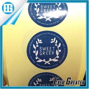 Custom Elegant Black Promotion Slogan Adhesive Sticker Lebel pictures & photos