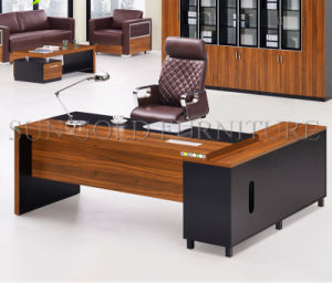 Hot Sale Modern Furniture Desk Office CEO Office Desk (SZ-ODL323) pictures & photos