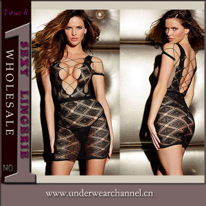 Newest Ladies Nightwear Baby Doll Sexy Lingerie Underwear Set (T21522-2) pictures & photos