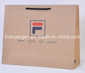 Brown Kraft Paper Bag for Famous Sports Brand