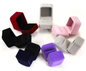 Wholesale Multicolor Clamshell Ring Gift Box pictures & photos