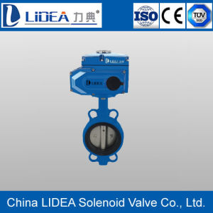 Low Price Soft Seal Electric Butterfly Valve for Water Treatment