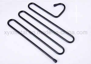 S Style Multilayer Suits Pants Trousers Hanger Wardrobe Metal Clips pictures & photos
