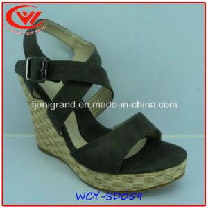 Fashion High Heel Flip Flops Women New Model Sandals pictures & photos