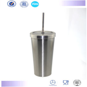New Starbucks Mug with Lid High Quality Stainless Steel Straw Mug Cup