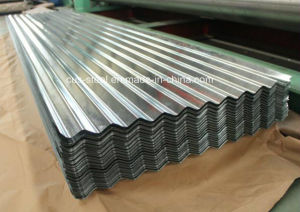 Corrugated Galvanzied Steel Roofing Sheets/Corrugated Gi Roofing Sheets pictures & photos