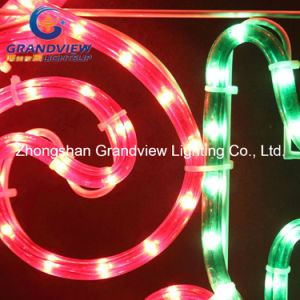 Animated 104cm Merry Christmas Letter with Holly Leaves Motif Rope Lights pictures & photos