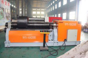 Siemens Motor W11 3 Roll Rolling Machine with Ce pictures & photos