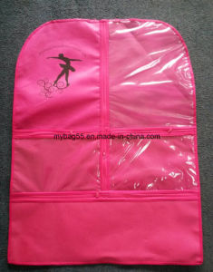 Cheap Price Zippered Non Woven Garment Cover pictures & photos
