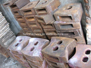 High Manganese Steel Castings, High Manganese Steel Hammers for Crushers pictures & photos