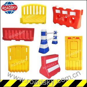 White/ Yellow/ Red Security Fence Water Filled Traffic Barrier pictures & photos