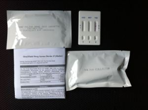 Rapid Saliva Drug of Abuse Test Kits Doa Drug Detection in Oral