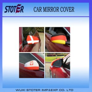 Promotion Car Mirror Cover /Flag
