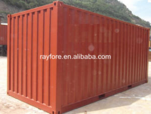 Dry Cargo Container Type 20′ Standard Shipping Container in China pictures & photos