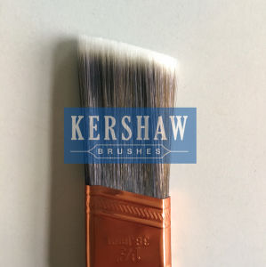 Paint Brush (sash brush, tapered filament flat brush with hard wood handle) pictures & photos