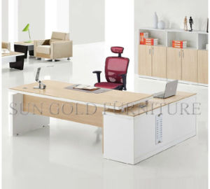 Luxury Melamine CEO Executive Office Desk (SZ-ODL314) pictures & photos