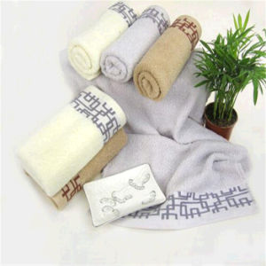 Bochang 100% Cotton Jacquard Towel