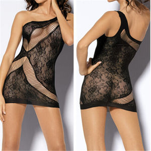 New Style Lace Mini Net Hot Sexy Mesh Lingerie (53010) pictures & photos