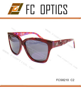 New Burgundy Color for Women Sunglasses From Sincerely Factory pictures & photos