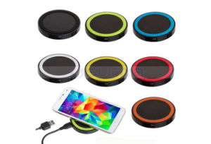portable Mobile Phone Use Qi Wireless Charger Recieve Power Bank for iPhone 6s Plus Samsung S6 Edge Smart Cell Phone pictures & photos
