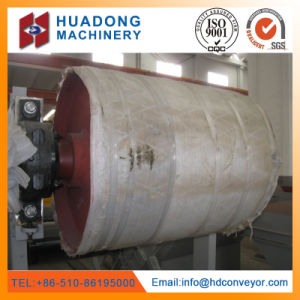 China Factory Supply Good Quality Belt Conveyor Pulley Lagging pictures & photos