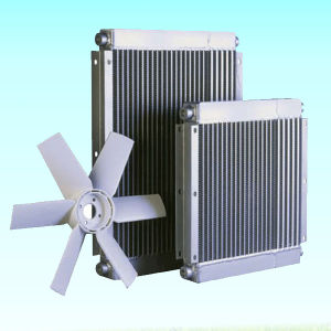 Aluminum Heat Exchanger Oil Cooler Motor Fan Air Compressor Parts Radiator pictures & photos