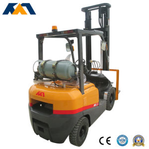 Tcm Appearance 2ton LPG Forklift Truck with Japanese Nissan Forklift Price pictures & photos